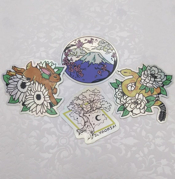 Spring Holographic Sticker Set