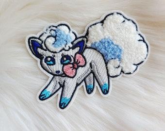 Cute Snow Fox Iron-on Patch