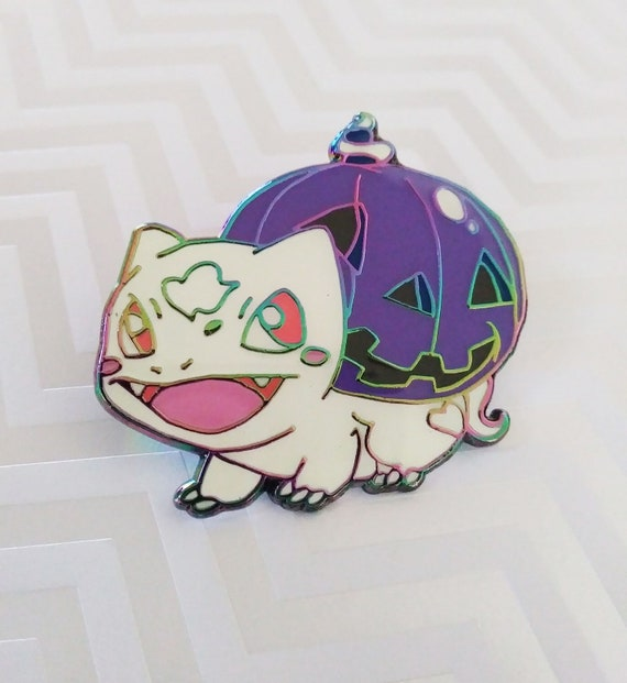 Ghost Pumpkin Bulba *Seconds imperfect pin deal*