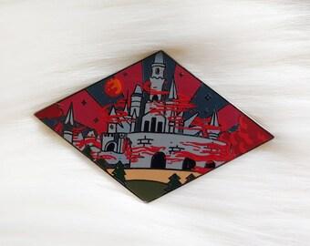 Cursed Castle Enamel Pin