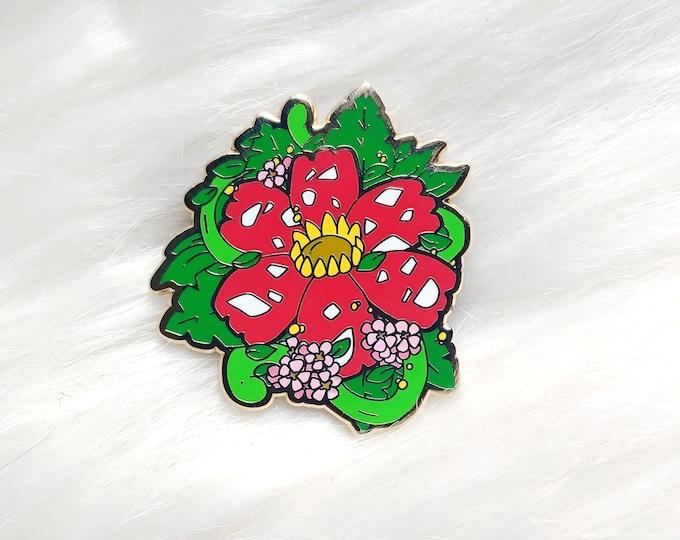 Jungle Floral Enamel Pin