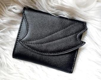 Dragon Wing Wallet - Black