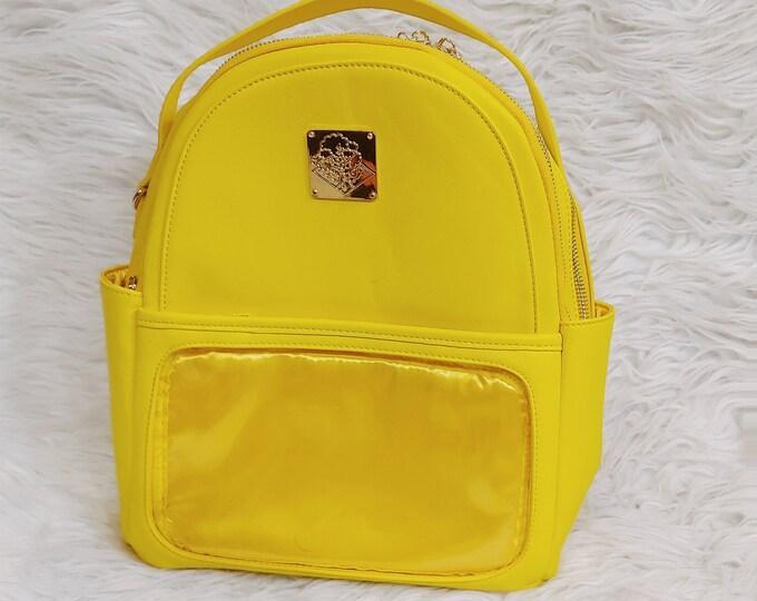 Casual Ita Backpack - Sunshine Yellow