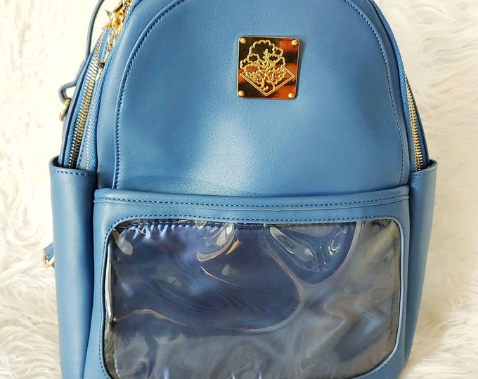 Casual Ita Backpack - Navy Blue