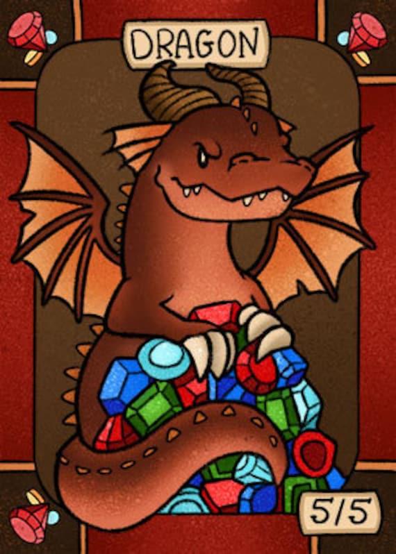 Hippo Token Custom art by Magic Artist Jeff A Menges MTG Magic the Gathering