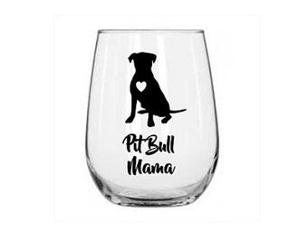 0f1bdeb8ff9 Pit bull wine glass