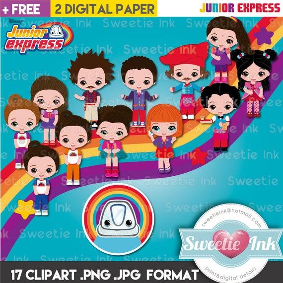 Junior Express Clipart Kawaii