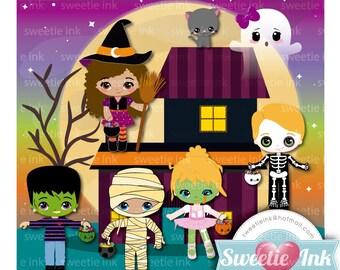 Halloween 2 clipart Kawaii