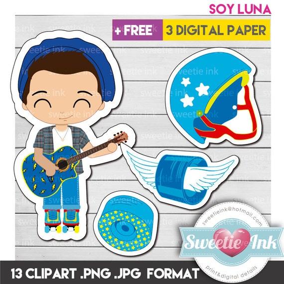 Soy Luna Kawaii Clipart Boy Simon