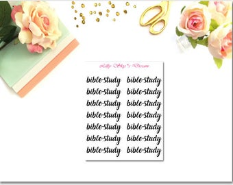 Bible Study Little Script