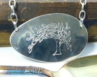 Tree of Life Necklace, Tree of Life Pendant, Tree of Life Jewelry, Silver Necklace, Boho Necklace, Boho Jewelry, Silver Jewelry Eco Friendly