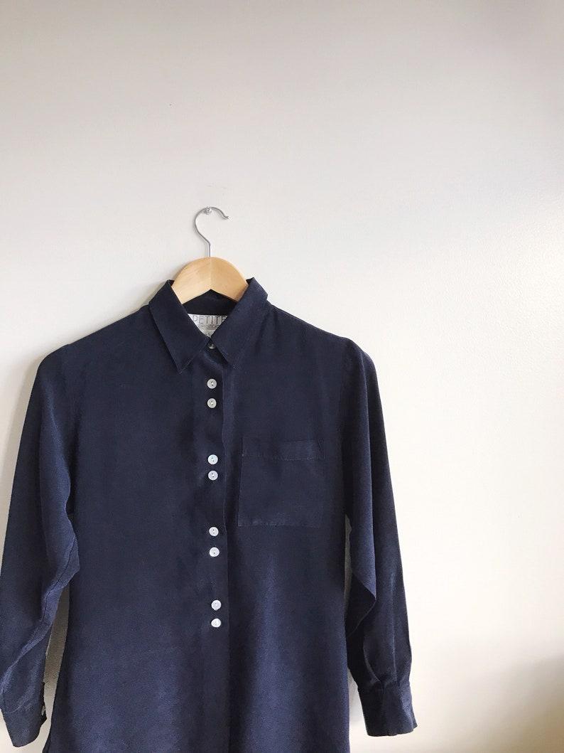 8e0badf10747 Soft Button-up Blouse