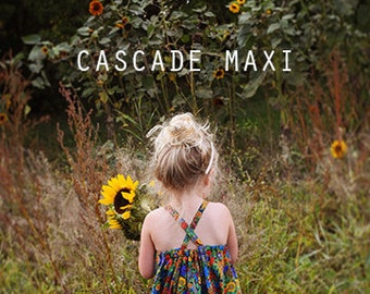 Cascade Maxi pdf sewing pattern