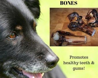 Emu Dog Treats - All Natural Smoked Emu Bones