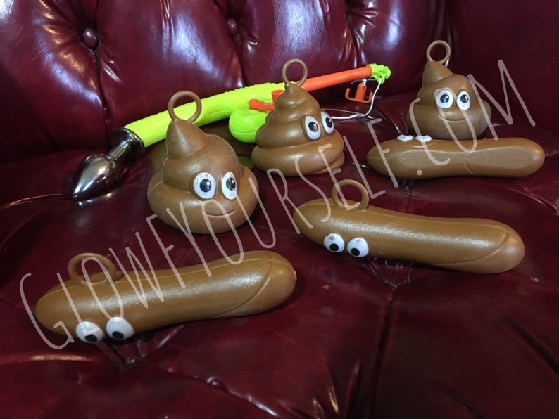 Floater fishing butt plug set fun game party toy Funnier image 0