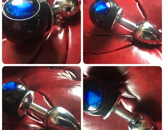 Magic 8 ball fortune telling butt plug!! Be the hit of every party, twerking it psychic style! Mature