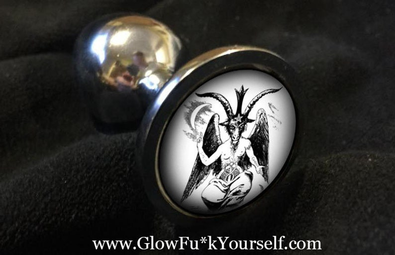 Baphomet butt plug Just in time for Halloween Armageddon or image 0
