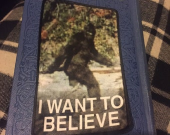 Bigfoot I Want To Believe Patch
