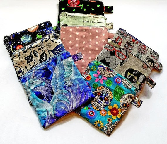 c11ee17a74 Coin pouch coin purse planet stars coin purse dog and cat