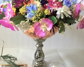 Silk flower arrangemets,M...