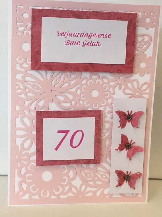 Afrikaans birthday card verjaardagkaartjie etsy stopboris Choice Image