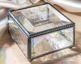 Personalised Trinket Box Mother/'s Day Gift Gran Grandma