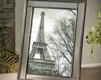 Glass Picture Frame Gift for Graduation, Father's Day, Weddings or Anniversary 4x6 Easel Back Photo Frame Pic 322-46HV