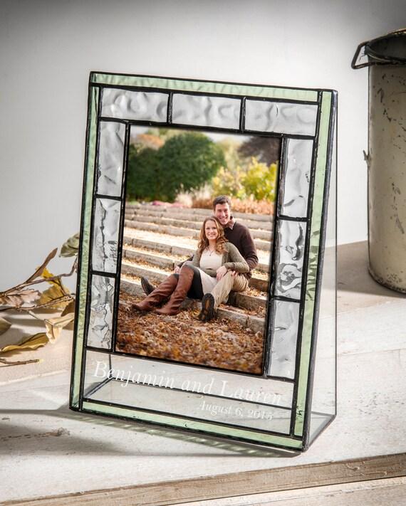 cadre photo personnalis en cadeau anniversaire de mariage etsy. Black Bedroom Furniture Sets. Home Design Ideas