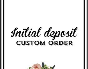 Initial Deposit