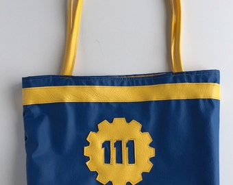 Fall Out 4 Vault 111 Vinyl Tote
