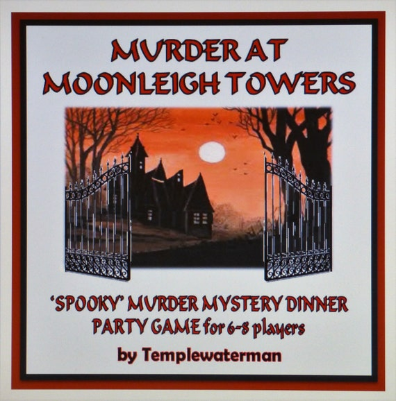HOST AN ALL FEMALE MURDER MYSTERY DINNER PARTY GAME for 6-12 players