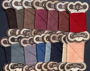 Cards of Vintage German Darning Thread