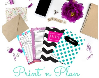 Create your own planner - Monthly subscription