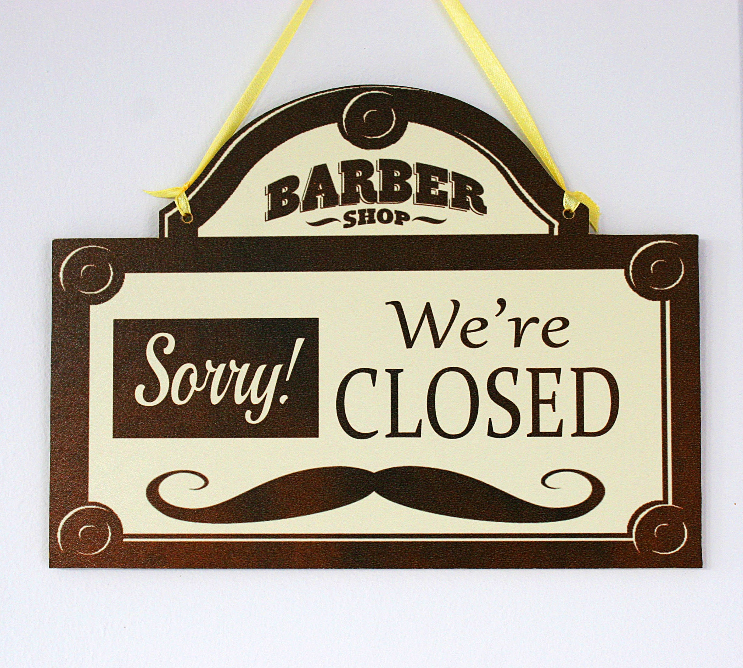 double sided shop door window hanging wooden sign OPEN shabby chic CLOSED