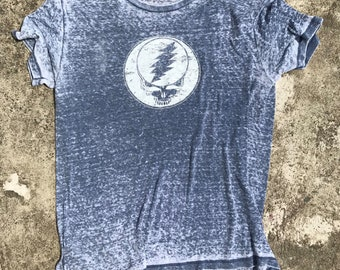 ab200e77 Grateful Dead Steal Your Face Burnout Tee