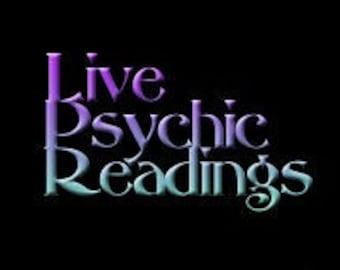 LIVE PSYCHIC TAROT Readings-Live Instant Readings via Skype, Phone, Chat 50 for 15min, 90 for 30min 120 for 45min for 150 for 60min