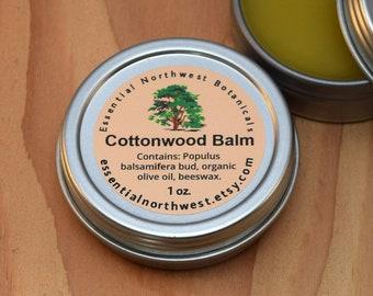 Cottonwood Balm 1 oz. screw top tin - Balm of Gilead - Cottonwood Salve