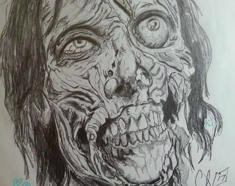 Drawings Inspired By Horror Movie Characters By Wegiveyouthecreeps