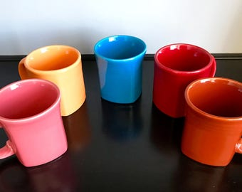 Post-1986 (Contemporary) Fiestaware Square Mug - 5 Available Colors!!