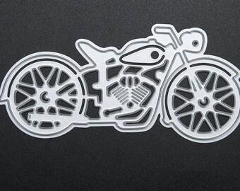 MOTORCYCLE die cuts MOTORBIKE