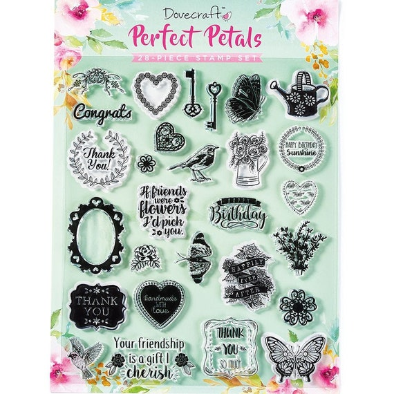 Dovecrafts Love Seal Clear Stamp