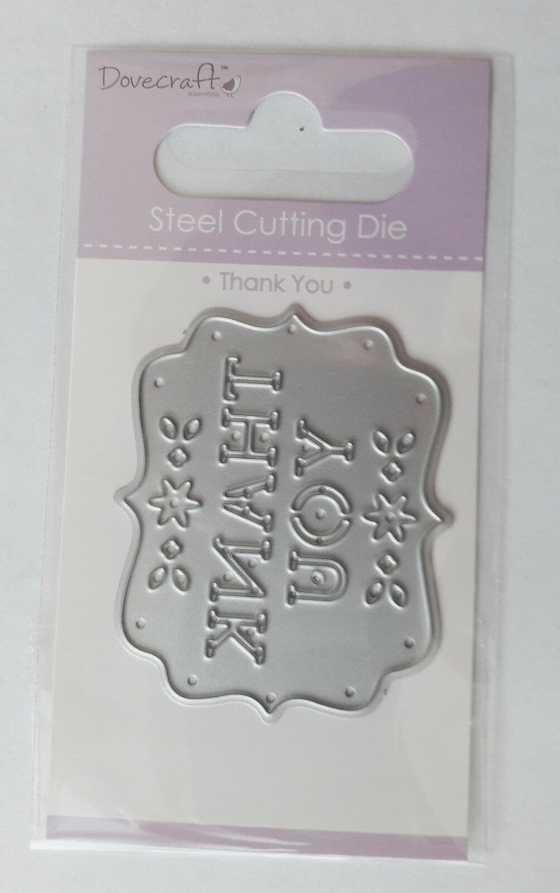 great for Cards or Crafts Plaques Dovecraft Die