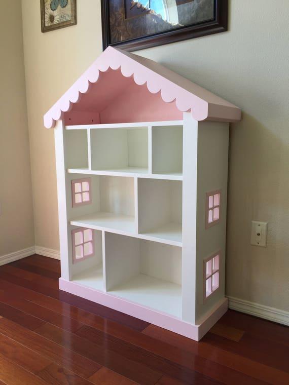 Dollhouse Bookcase Kids Childs Bookshelf