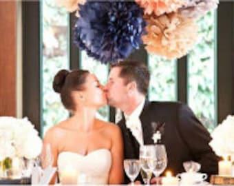 pompoms 55 tissues paper for decoration, party decorations, birthday decoration, wedding, room decoration, ceremony decoration