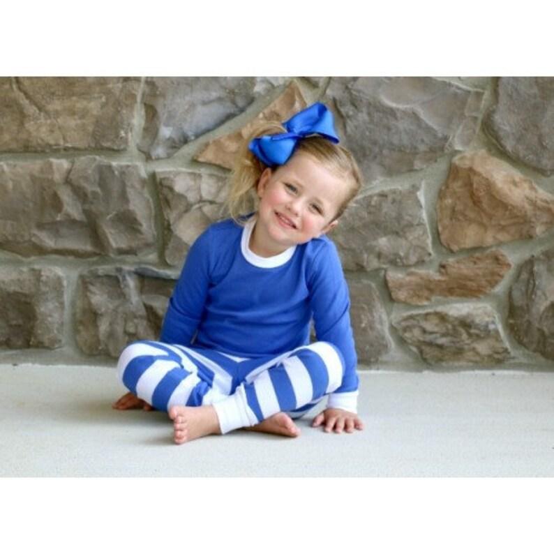 Family Christmas Pajamas Blue.Blue White Stripes Christmas Pajamas Christmas Pjs Family Christmas Pajamas Christmas Pj Pre Orders