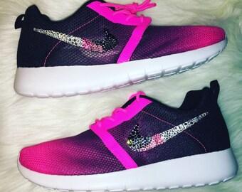 Bling Women Youth Nike Roshe Casual Shoe e6f82fdd0