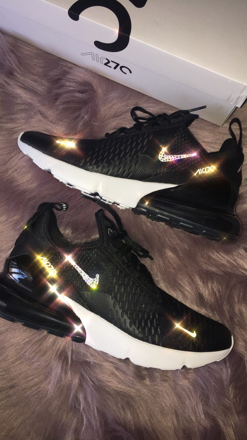 info for 367c6 760fa Bling Nike Air Max des femmes 270   Etsy