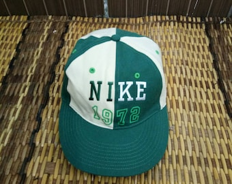 a7f5cb0d407bc Rare Vintage Nike Cap One Size Fits All Nike Tennis Caps   Etsy