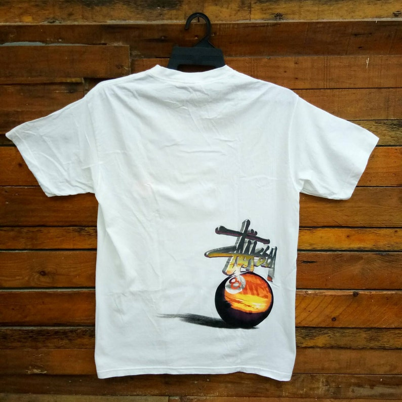 3df66a944728a Rare Vintage Stussy T Shirt Size L Stussy Street Wear Hip