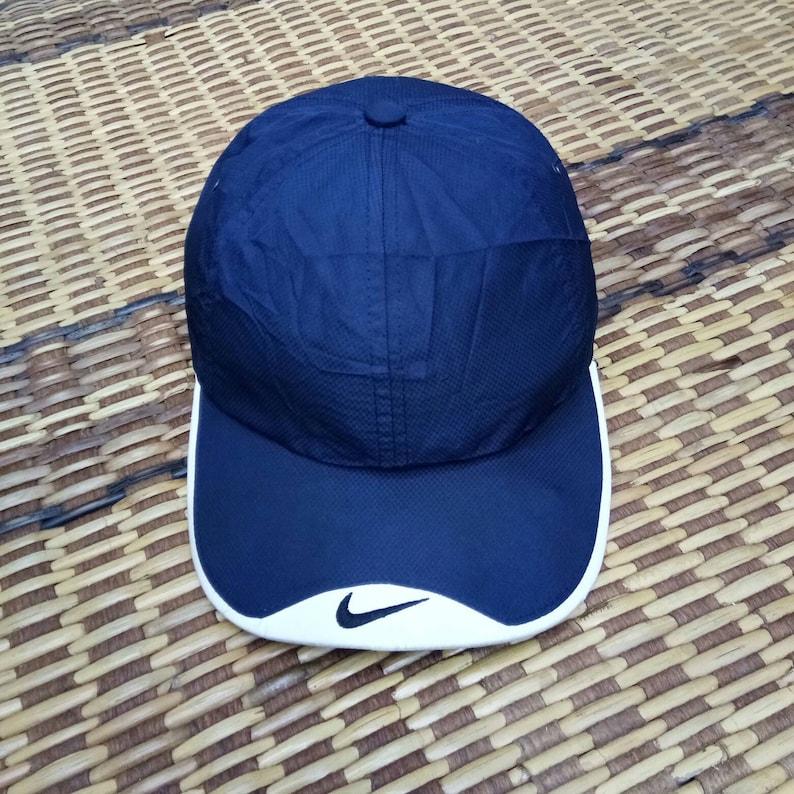 ff608d13de9e6 Rare Vintage Nike Cap, One Size Fits All, Nike Tennis Caps, Nike Challenge  Court